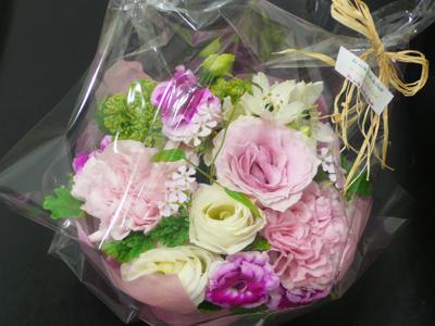 7周年のお花