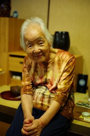 京都茶碗屋おばあさん