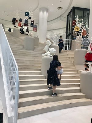 神戸ファミリア本店階段