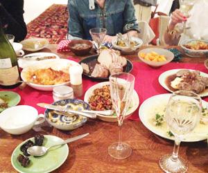 パンとワインのパーティー