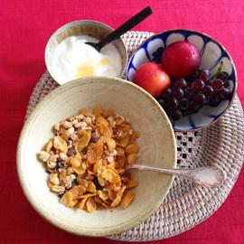 朝ご飯フルーツ