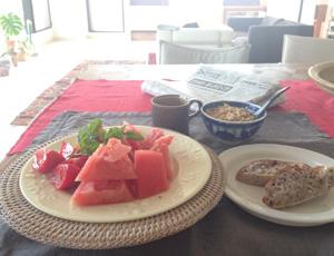 朝ご飯写真
