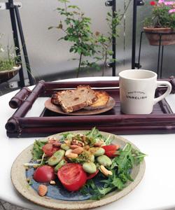 ガーデン朝ご飯