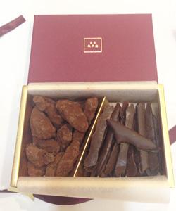 風月堂のチョコレート