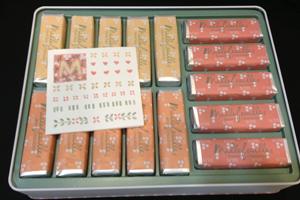 チョコのミルフィーユ