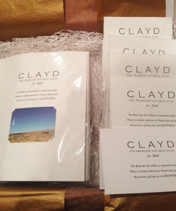 CLAYD入浴剤