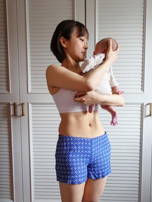 出産後の写真
