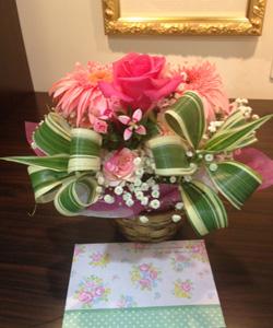 キャスパーへのお花