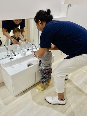 ファミリア本店の子供用トイレ