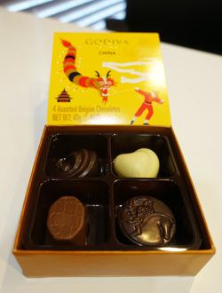 godivaチョコレート