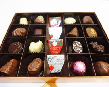 ゴディバクリスマスチョコレート