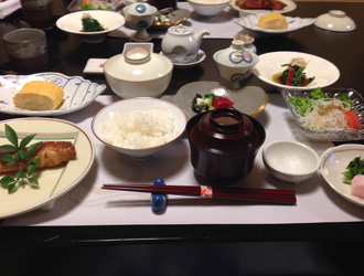 箱根の朝ご飯