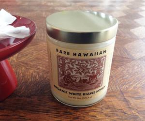 ハワイのホワイトハニー
