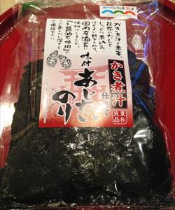 牡蠣の味付け海苔