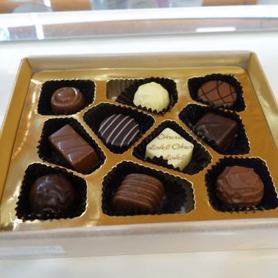 ホテルオークラのチョコレート