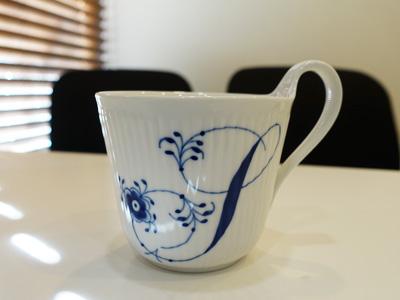 ロイヤルコペンハーゲンのマグカップ
