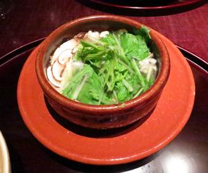 うち山松茸と鱧小鍋