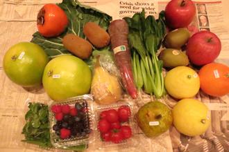 野菜のプレゼント