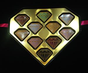 ダイヤモンドチョコレート
