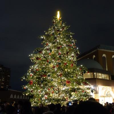 ガーデンプレイスクリスマスツリー