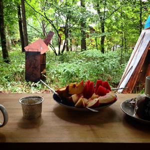 八ヶ岳朝ご飯
