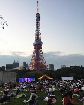 東京タワーヨガ