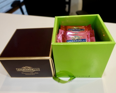 アメリカ土産のチョコレート