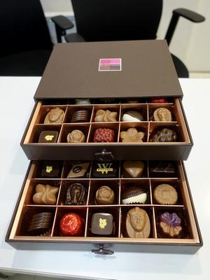豪華なチョコレート