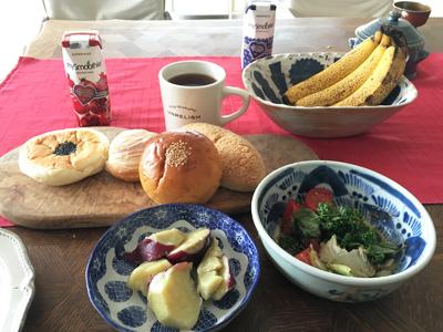 グルテンフル朝食