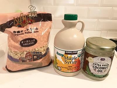 手作りグラノーラの材料レシピ