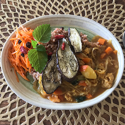 野菜スープカレーの抗酸化力