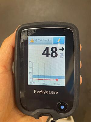 血糖測定結果